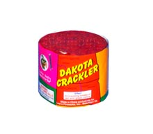 Fireworks - 200G Multi-Shot Cake Aerials - DAKOTA CRACKLER