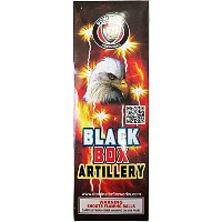 Fireworks - Reloadable Artillery Shells - Dominator Black Box Artillery Shells (Compact box)