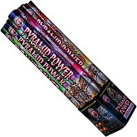 Fireworks - Roman Candles - 5 Shot Pyramid Power Candle