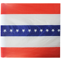 Fireworks - Fireworks Promotional Supplies - Red/White/Blue Plastic Bunting