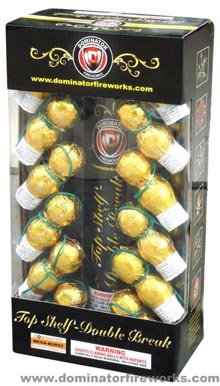 Fireworks - Reloadable Artillery Shells - Top Shelf - Double Break - Artillery Shells