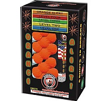 Fireworks - Reloadable Artillery Shells - Orange Alert