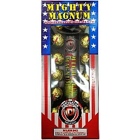 Fireworks - Reloadable Artillery Shells - Mighty Magnum - Artillery Shells with Tails
