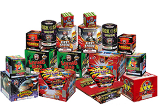 Fireworks - Fireworks Assortments - Block Buster Display