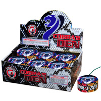 Fireworks - Snakes Fire work For Sale On-line - The classic favorites! Non-explosive so no min order and lower shipping rates!  - Cobras Den