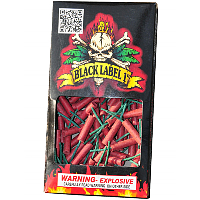 Fireworks - Firecrackers - Black Label 1 inch Waterproof Firecrackers