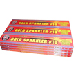 No. 10 GOLD SPARKLERS - Wire Fireworks For Sale - Sparklers