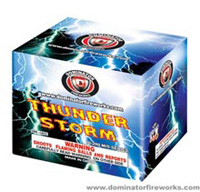 Thunder Storm Fireworks For Sale - 200G Multi-Shot Cake Aerials