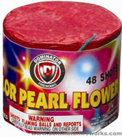 48 Shot Color Pearl Flower Fireworks For Sale - 200G Multi-Shot Cake Aerials