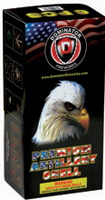 Dominator Black Box Artillery-12 Shots Fireworks For Sale - Reloadable Artillery Shells