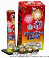 Dominator - WHISTLING BUSTER  - Artillery Shells Fireworks For Sale - Reloadable Artillery Shells