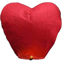 Sky Lanterns - Heart Shape Fireworks For Sale - Novelties