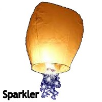 Sky Lanterns - Sparkler Star Fireworks For Sale - Novelties