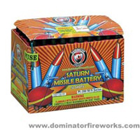 50 shot Saturn Missile Fireworks For Sale - Missiles