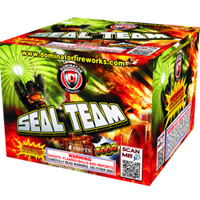 Seal Team - Day Parachute Fireworks For Sale - Parachutes