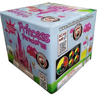 Princess Parachutes Fireworks For Sale - 500g Firework Cakes