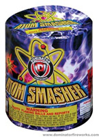Atom Smasher Fireworks For Sale - 200G Multi-Shot Cake Aerials