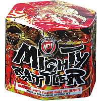 Mighty Rattler Fireworks For Sale - 200G Multi-Shot Cake Aerials