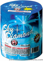 Sky Diamond Fireworks For Sale - 200G Multi-Shot Cake Aerials