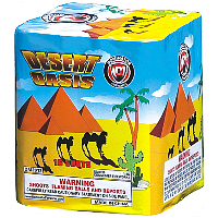 Desert Oasis Fireworks For Sale - 200G Multi-Shot Cake Aerials