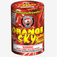 Orange Sky Fireworks For Sale - 200G Multi-Shot Cake Aerials