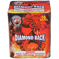 Diamond Back Fireworks For Sale - 200G Multi-Shot Cake Aerials
