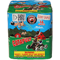 Catapult Fireworks For Sale - 200G Multi-Shot Cake Aerials