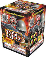 RPG Fireworks For Sale - 200G Multi-Shot Cake Aerials