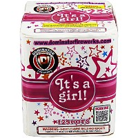 Its a Girl! Fireworks For Sale - 200G Multi-Shot Cake Aerials