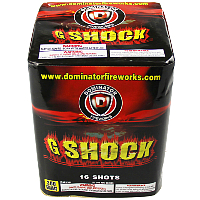 G-Shock Fireworks For Sale - 200G Multi-Shot Cake Aerials