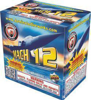 Mach 12 Fireworks For Sale - 200G Multi-Shot Cake Aerials