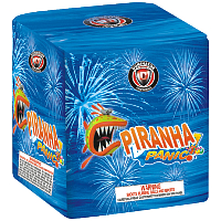 Piranha Panic Fireworks For Sale - 200G Multi-Shot Cake Aerials