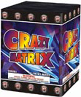Crazy Matrix Fireworks For Sale - 200G Multi-Shot Cake Aerials