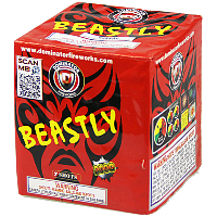 Beastly Fireworks For Sale - 200G Multi-Shot Cake Aerials