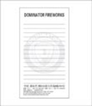 Fireworks - Fireworks Promotional Supplies - Dominator Memo Pads