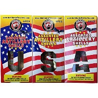 Assorted Artillery Shells Fireworks For Sale - Reloadable Artillery Shells