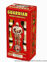Guardian - 6 shot - Artillery Shells Fireworks For Sale - Reloadable Artillery Shells