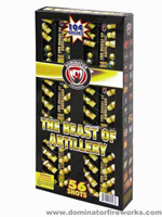The Beast of Artillery  Fireworks For Sale - Reloadable Artillery Shells