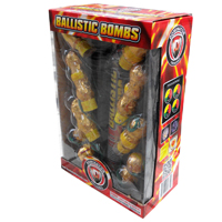 Ballistic Bombs Fireworks For Sale - Reloadable Artillery Shells