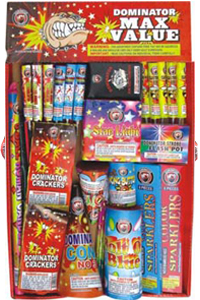 Fireworks - Fireworks Assortments - Max Value Tray Assortment