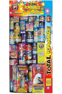 Fireworks - Fireworks Assortments - Total Dominance  Fireworks Assortment
