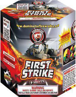 First Strike Fireworks For Sale - 500g Firework Cakes