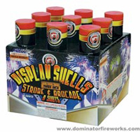 Dominator 3 Tube Cake - Super Finale Fireworks For Sale - 500g Firework Cakes