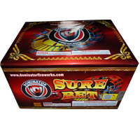 Sure Bet 500g cake Fireworks For Sale - 500g Firework Cakes