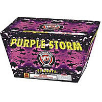 Purple Storm Fireworks For Sale - 500g Firework Cakes