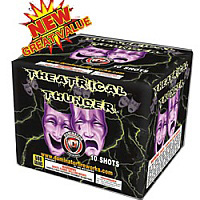 Theatrical Thunder Fireworks For Sale - 500g Firework Cakes