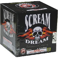 Scream Dream Fireworks For Sale - 500g Firework Cakes