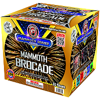 Mammoth Brocade Fireworks For Sale - 500g Firework Cakes