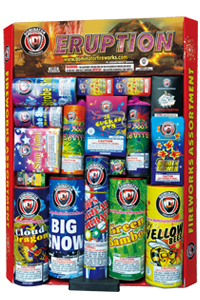 Eruption Fireworks For Sale - Safe and Sane