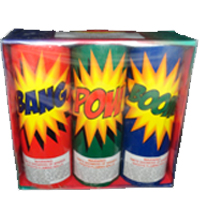 Bang Pow Boom Fireworks For Sale - 200G Multi-Shot Cake Aerials